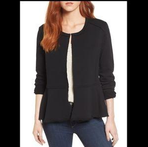 Caslon • Knit Peplum Jacket